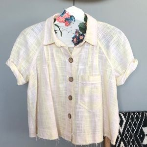 We The Free - Free People Button down top